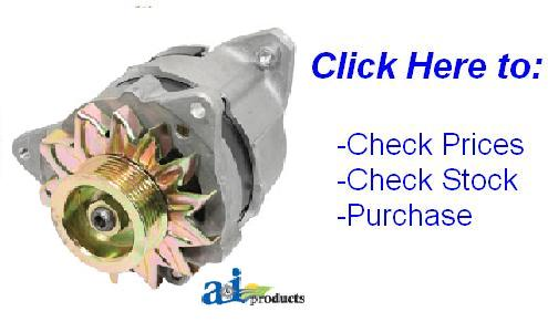 Massey Ferguson 135 Starter Alternator