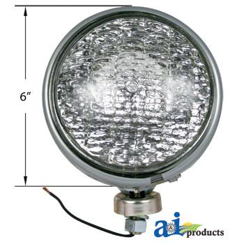 Ford 8N Lights Sealed Beam