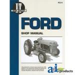 Ford 8N Shop Manual Service Manual Parts Manual